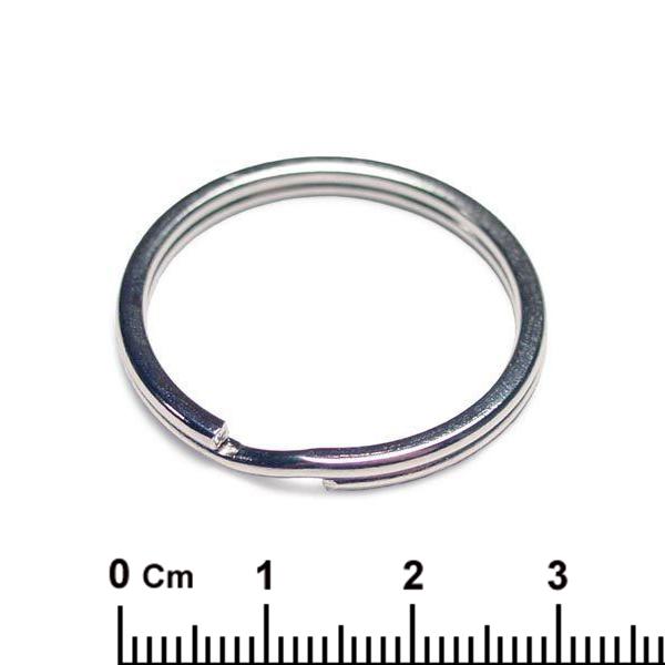 Интернет магазин оптовой поставки заготовок для сувениров Амальтея-М -   Кольцо для брелка КО-02